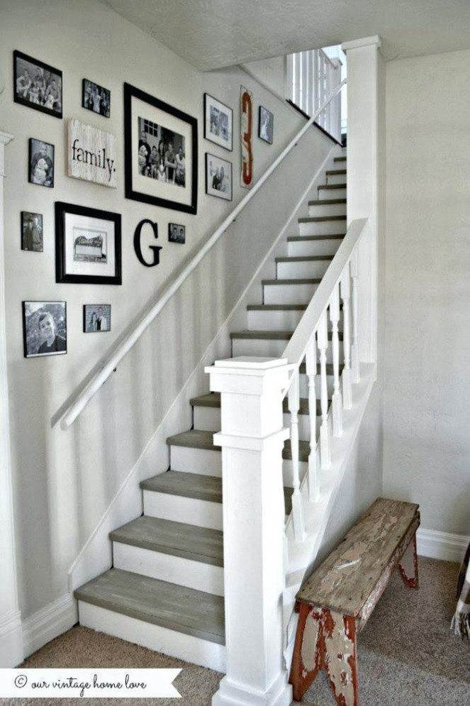 our vintage home love kitchen Lovely Hallway Stairs Decorating Ideas Hall Stairs And Landing Decorating