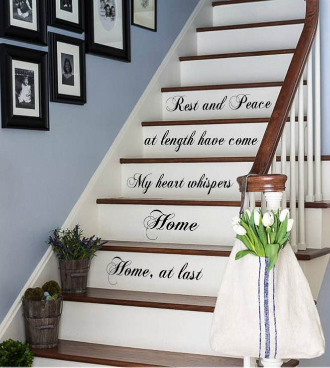 room.nauticalimages.net-staircase-wall-decor-quote-on-stairs